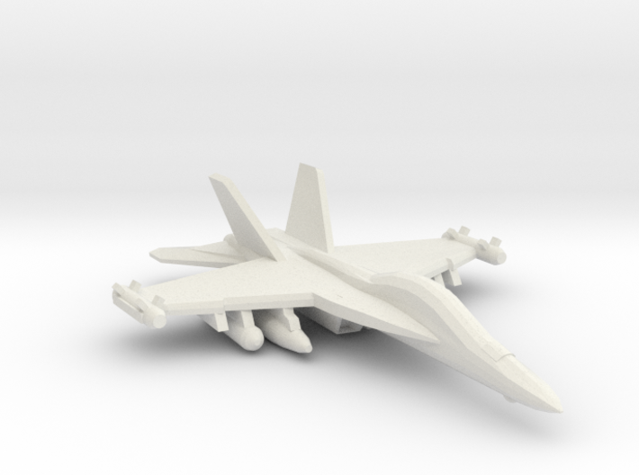 1/350 EA-18G Growler 3d printed