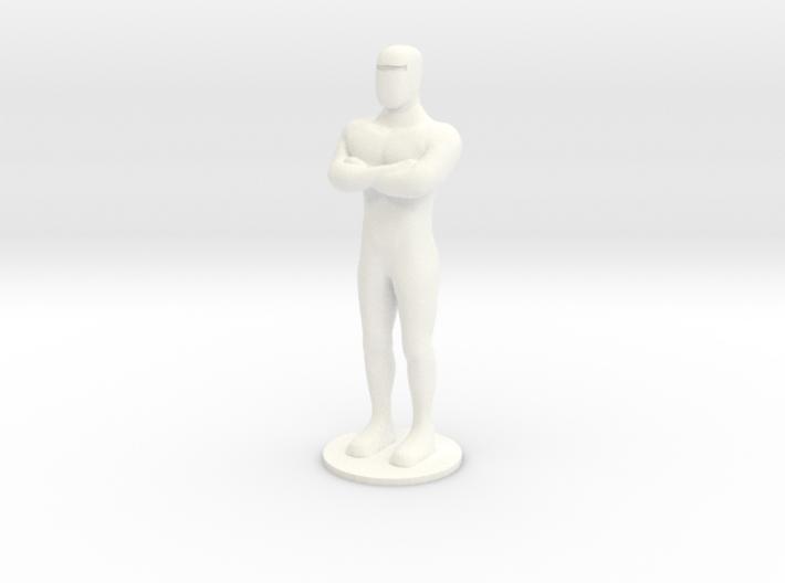 Humanoid Robot Gort Likeness 2 3d printed