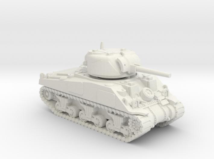 1/100 (15mm) M4 Sherman (F.O.W) Tank Two 3d printed