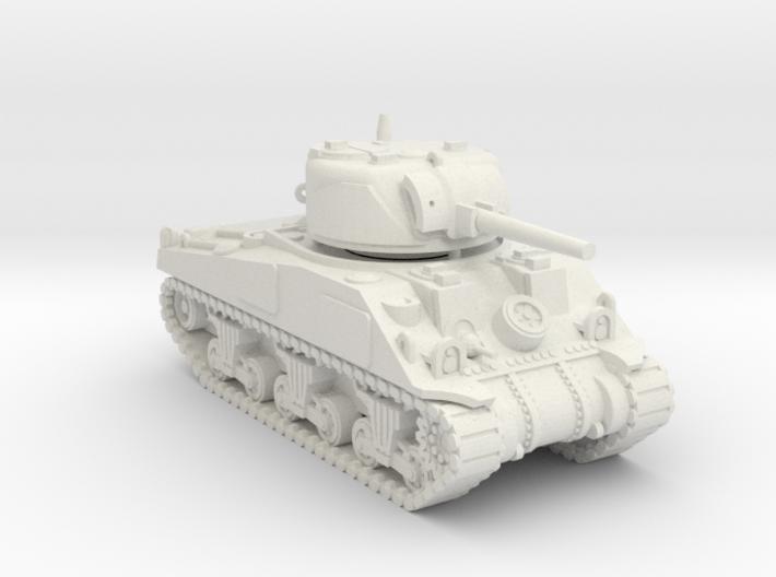 1/100 (15mm) M4 Sherman (F.O.W) Tank Four 3d printed