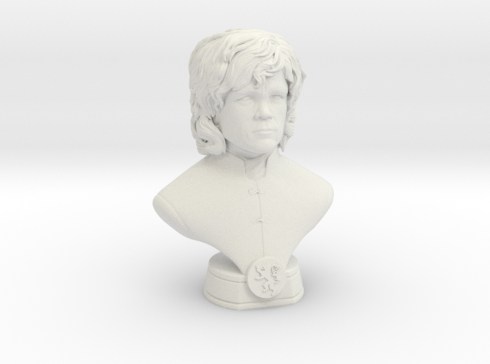 Tyrion Mini Bust 3d printed