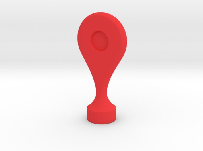 Google Maps Marker - Magnet (no hole) 3d printed