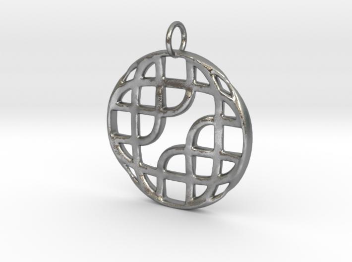 Celtic Pattern Pendant 3d printed