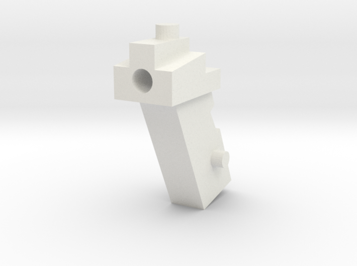 Handle Adapter (OS Powergun) for Nonnef Hands 3d printed