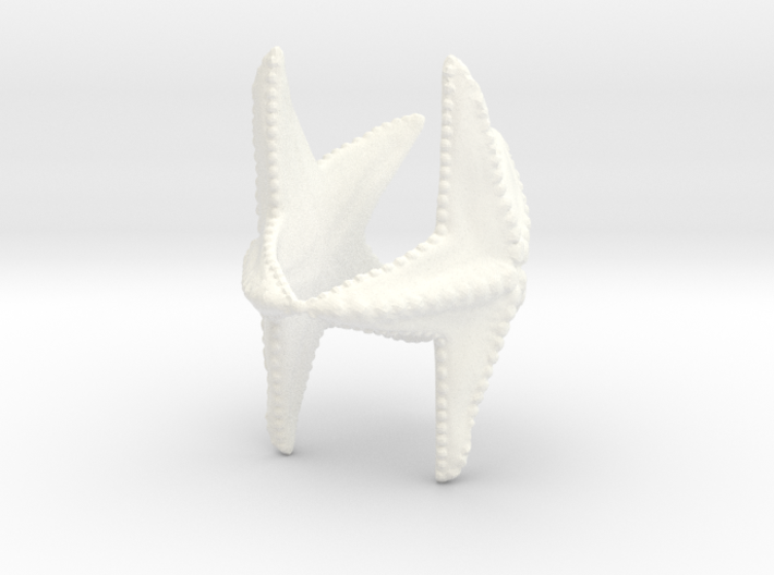 Starfish napkin holder 3d printed