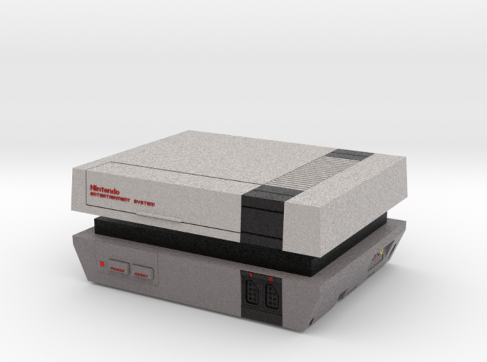 1:6 Nintendo Entertainment System 3d printed