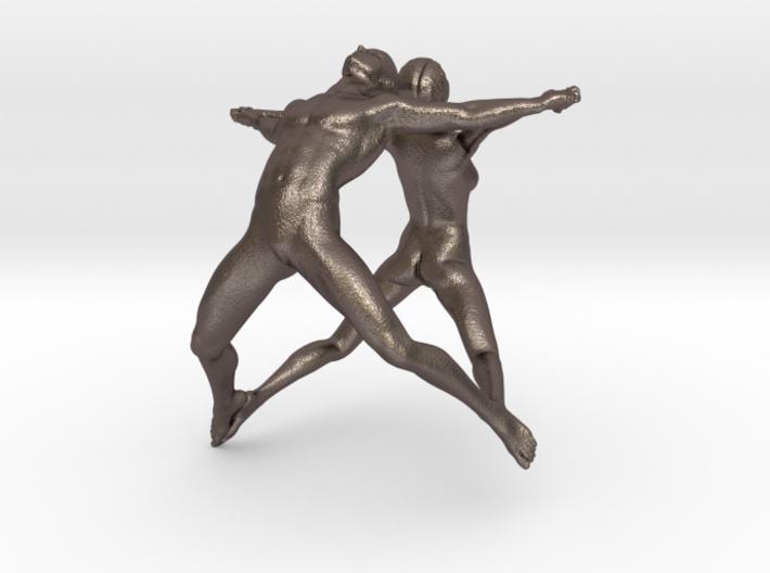 Hooped Joy Figures 70mm 3d printed