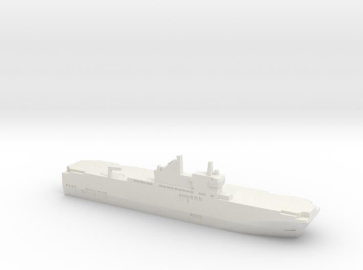 Mistral-class LHD, 1/3000 3d printed