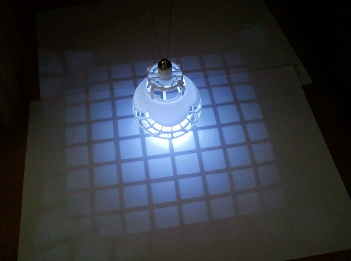 Led Holder 3d printed stereographic projection