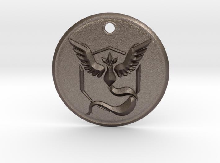 Team Mystic Pendant- Pokemon Go 3d printed