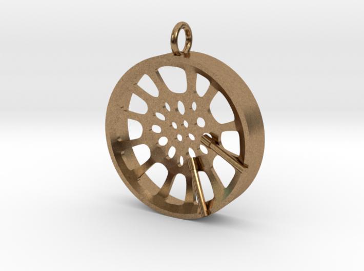 "High Tenor ""void"" steelpan pendant, M 3d printed"
