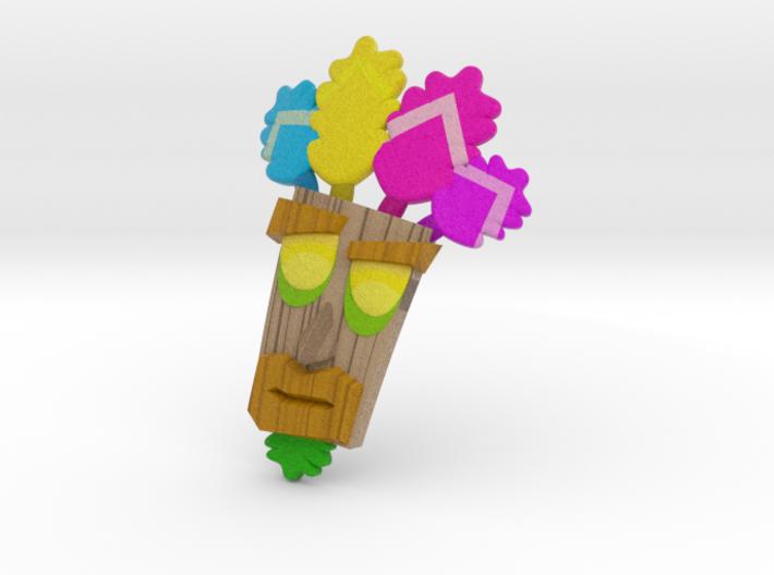 Aku Aku Mask (without stand) 3d printed