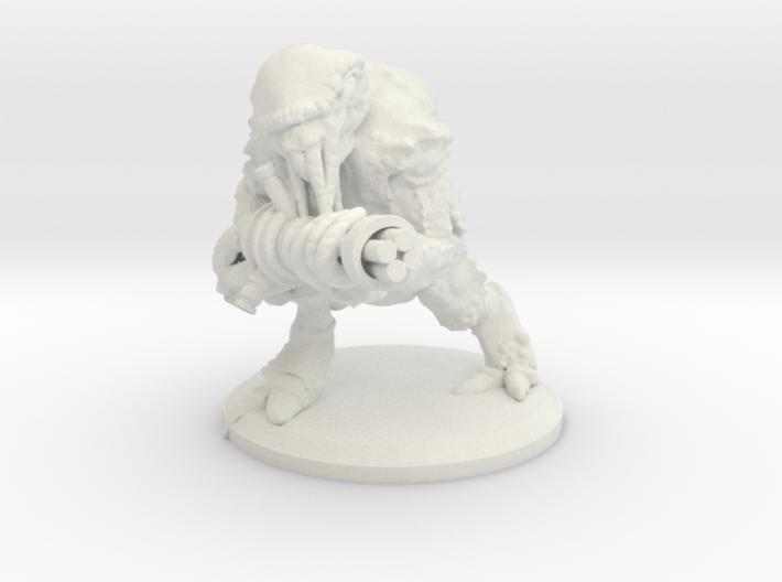 Archaeloid (Solar Echoes) Low Detail 3d printed