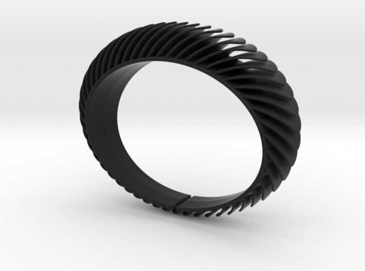 Blaadjesarmband-taps-L 3d printed