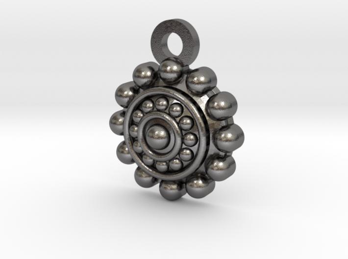 Keyring 'Boton Charro' 3d printed