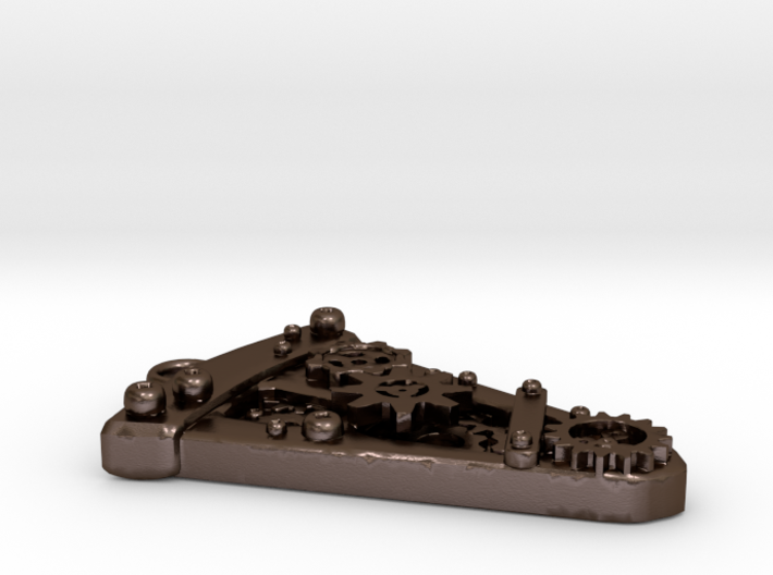 Steampunk Pizza Slice 3d printed