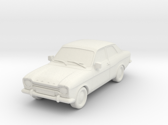 1:87 Escort mk1 2 door v1 hollow 3d printed