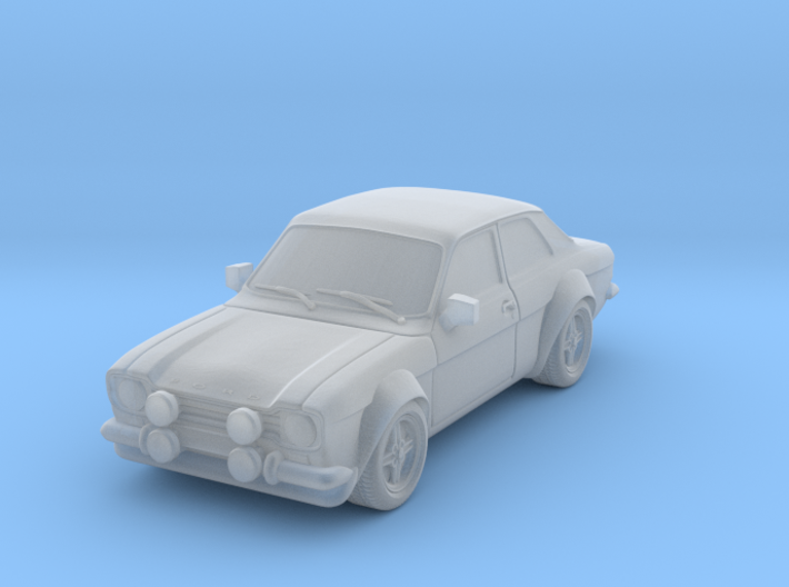 1:87 Escort mk1 2 door rs 1600 v1 hollow 3d printed