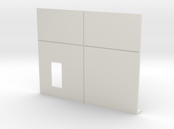 Personnel Door; Left Side 3d printed
