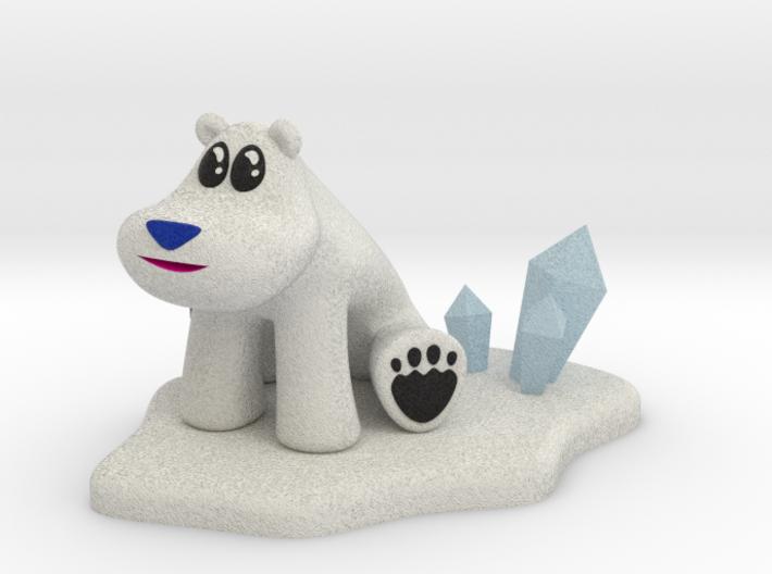 Polar Bear from Crash Bandicoot 3d printed