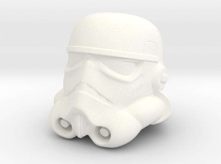 Storm Trooper Helmet  3d printed