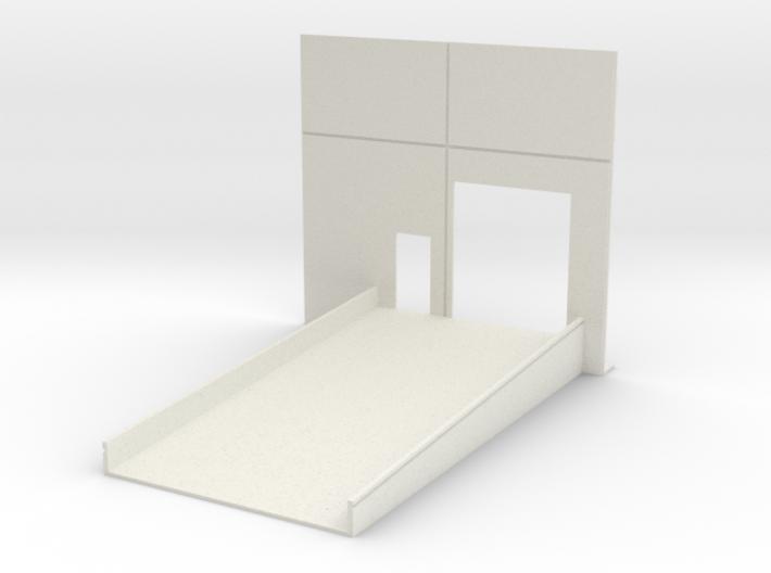 Roll Door w/Ramp Only 3d printed