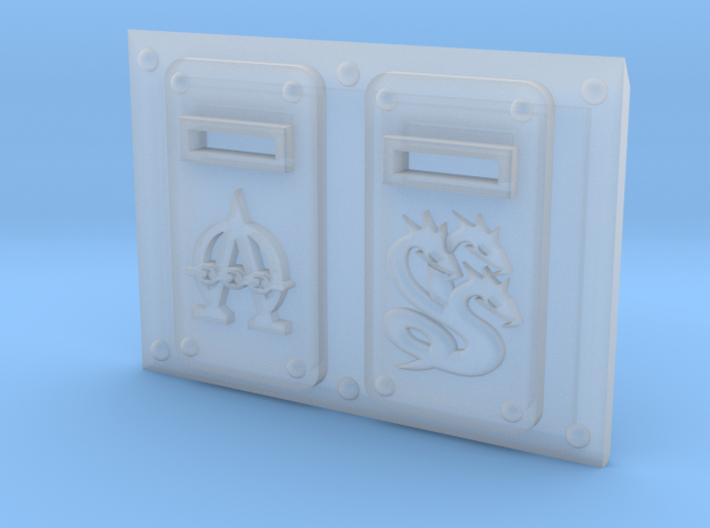 G1 TroopTank - front: Hydra 3d printed