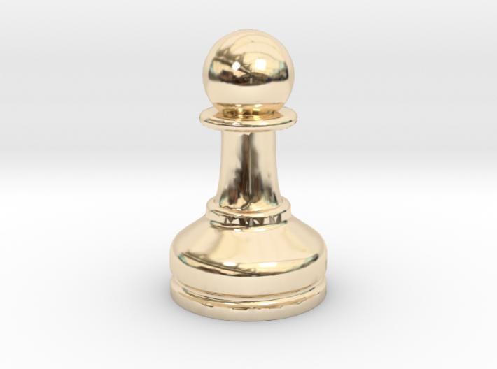 MILOSAURUS Chess MINI Staunton Pawn 3d printed