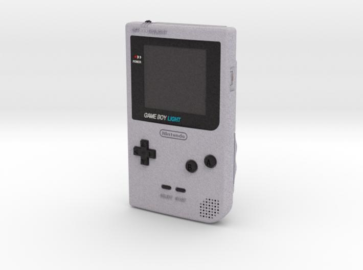 1:6 Nintendo Gameboy Light (Silver) 3d printed