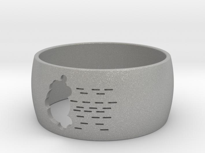 Rainy Cloud Ring - Perfo series 3d printed