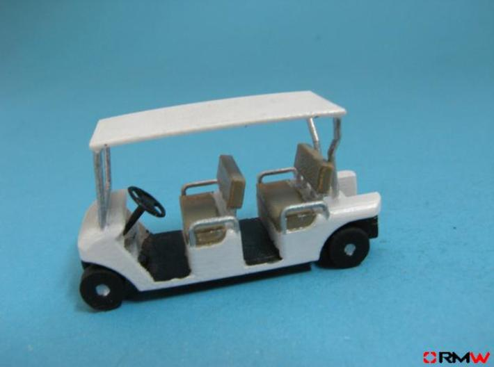 HO/1:87 Buggy, 2 seating rows, kit 3d printed [en]painted and assembled [de]bemalt und gebaut