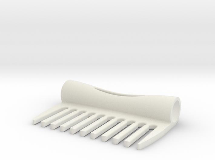Ergonomic Comb 3d printed