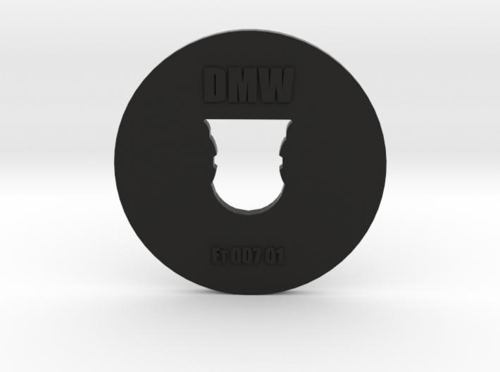 Clay Extruder Die: Footer 007 01 3d printed