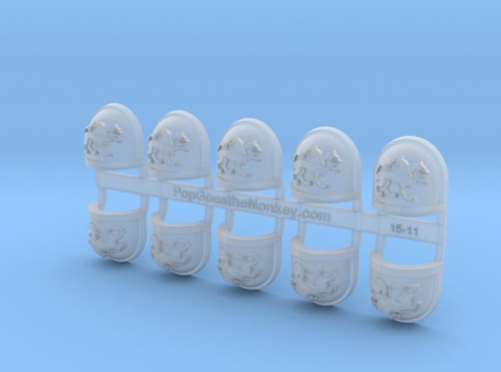 Deimos - Gen7:Standard Right Shoulder x10 3d printed