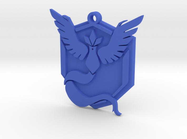 Pokemon Go - Team Mystic - Pendant 3d printed