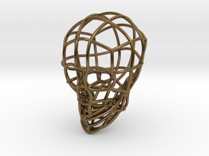 The Bone Series* - Skull 6.4#bd748 3d printed
