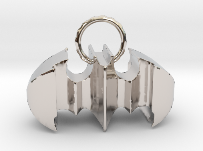 Batman keychain (or necklace ) 3d printed