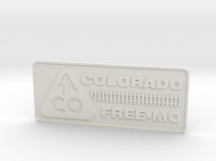 Colorado Free-mo Tag 3d printed