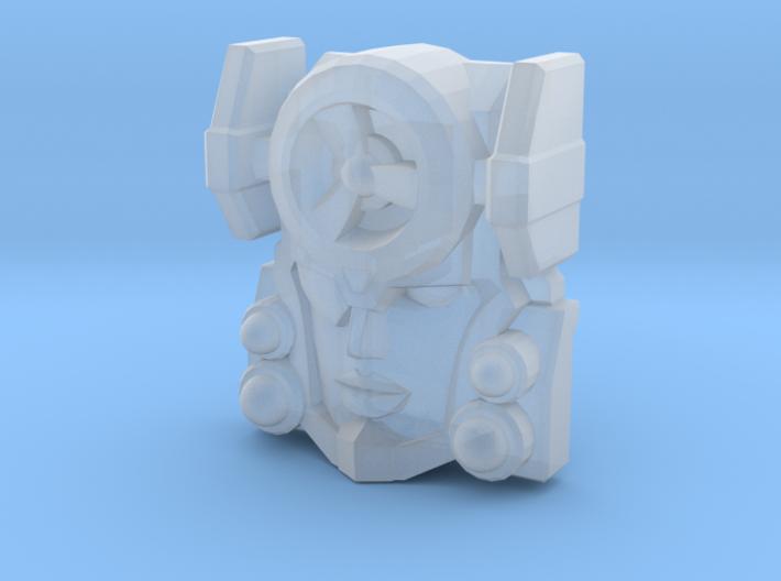Fembot HeadWind Face (Titans Return) 3d printed
