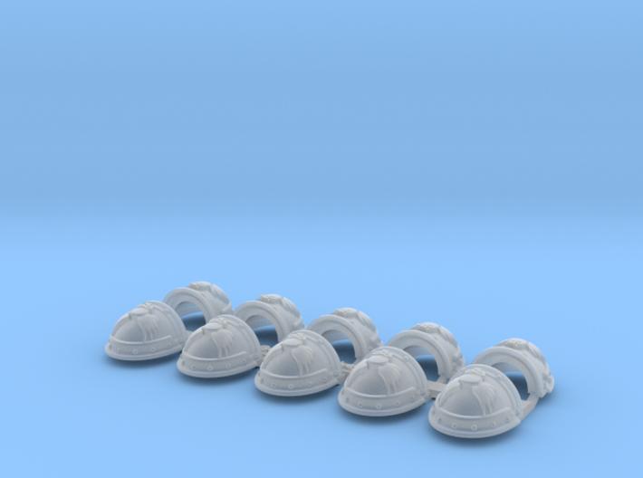 Angels Sanguine- Gen3:Iron Shoulder x10 3d printed