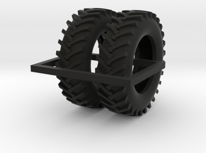 1/64 20.8-42 R1 Tractor Tires 3d printed
