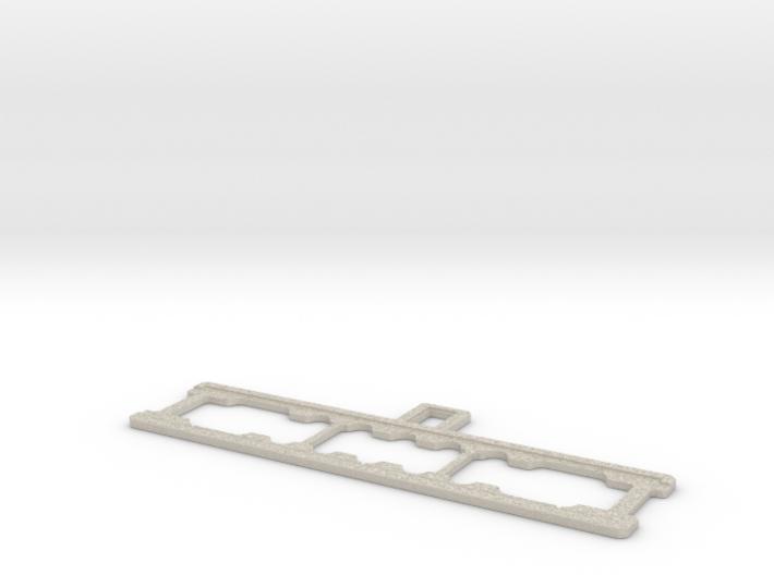 Gleiswaage Spur 0 Betonteil (Bauteil 2/2) 3d printed