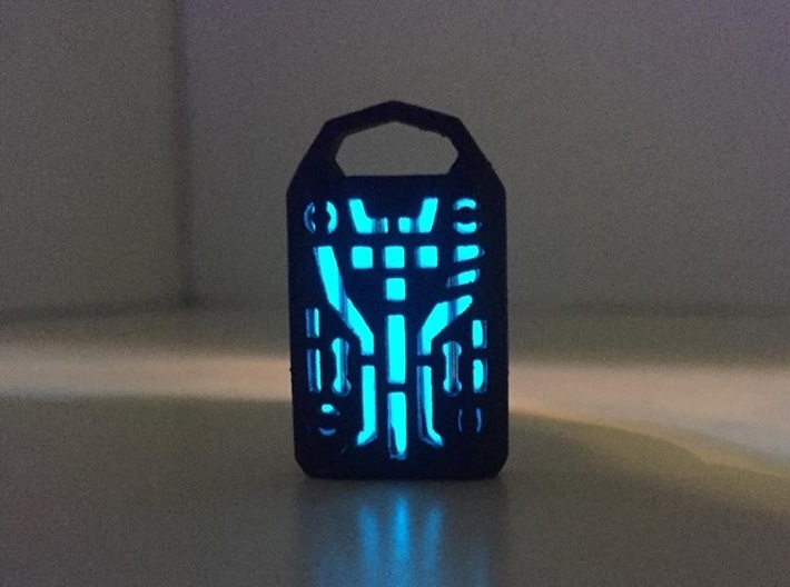 Digital Lantern X5: Tritium (all Materials) 3d printed