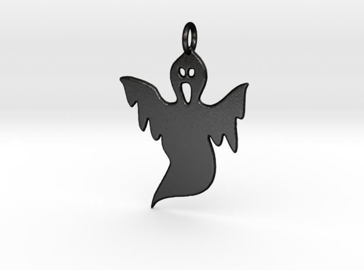 Halloween Ghost Pendant 3d printed