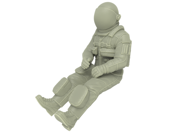 NASA Space Shuttle Pilot 3d printed
