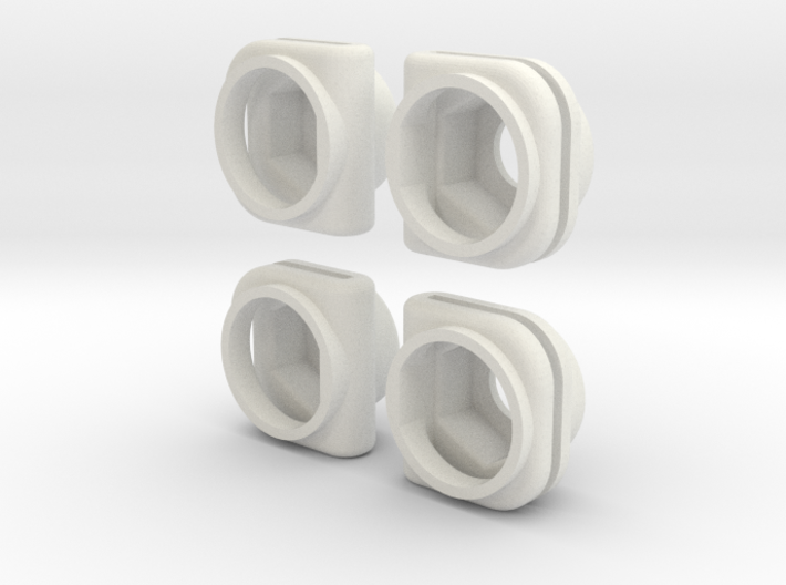 Ambulance Door Cover Inner Nut Mounting Clip 3d printed