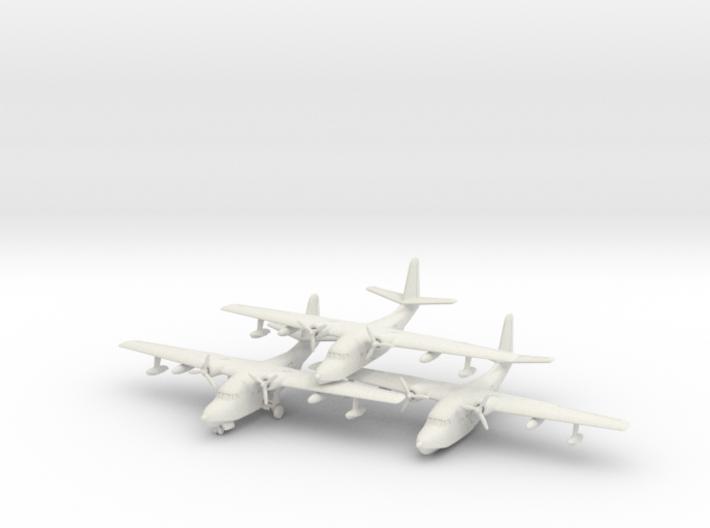 Grumman HU-16 (SA-16) Albatross (x3) 6mm 1/285 3d printed