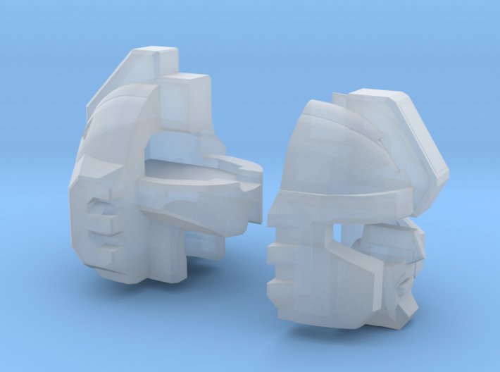 Boosted Defense Tactician Head 3d printed