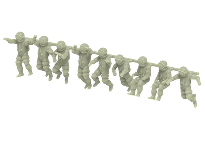 Generic Astronauts / Free Floating  3d printed