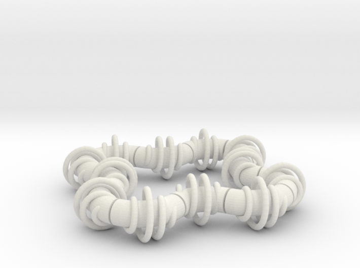 Twisting Links Fidget - Helix 3d printed